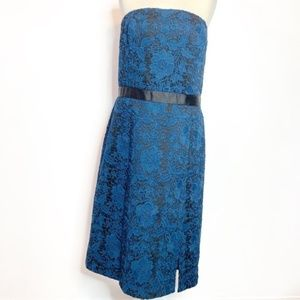 NWT Asos Tall lace overlay strapless dress